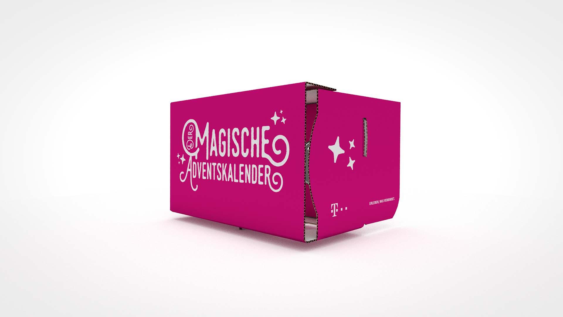 Telekom Weihnachtskalender.Cardboard Owl Premium Branded Cardboard Vr